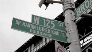 Martin Luther King Jr. Blvd Street Sign In Harlem New York ...