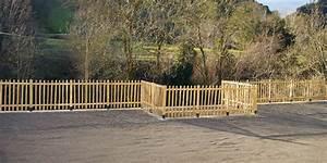 Cloture Jardin Bois : cl ture en bois trait a vendre ~ Premium-room.com Idées de Décoration