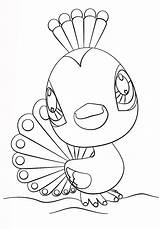 Pet Coloring Littlest Peacock Pages Printable Toy Lps Drawing Printables Crafts Panda Dots sketch template