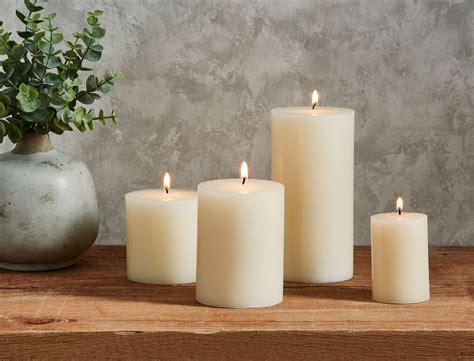 Candles For Home Decor: HOUSEHOLD PILLAR CANDLES