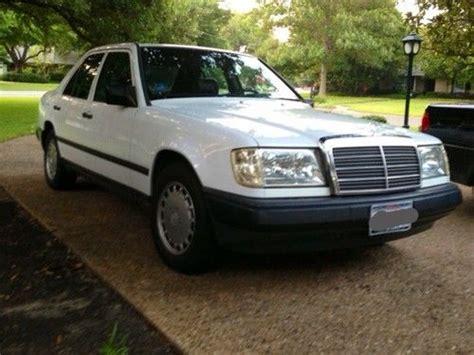 buy used 1987 mercedes benz 300d turbo diesel sedan white