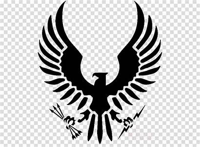 Eagle Stencil Emblem Wing Clipart Kissclipart
