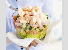 Prawn layered salad recipe BBC Good Food