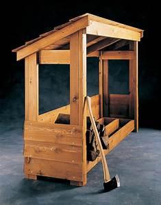 Build a Firewood Shelter BLACK+DECKER