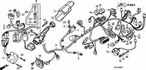 Honda Fes1257 2007 Wire Harness  Fes1257  A7  Fes1507  A7