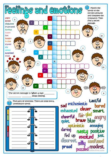 Feeling And Emotions Worksheet  Free Esl Printable Worksheets Made By Teachers