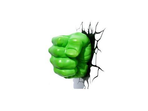 marvel 3d led wall decal hulk