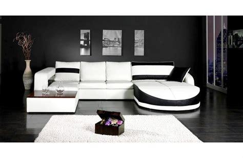 canape noir pas cher photos canapé design pas cher noir et blanc