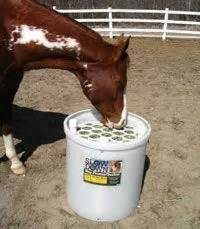 slow feeder  waste hay feeder update horses
