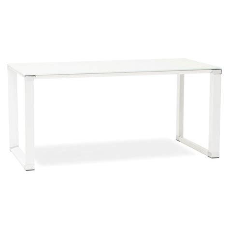 bureau design verre metal bureau design quot hovik quot verre blanc
