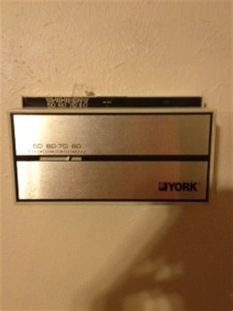 replace  york thermostat doityourselfcom community forums