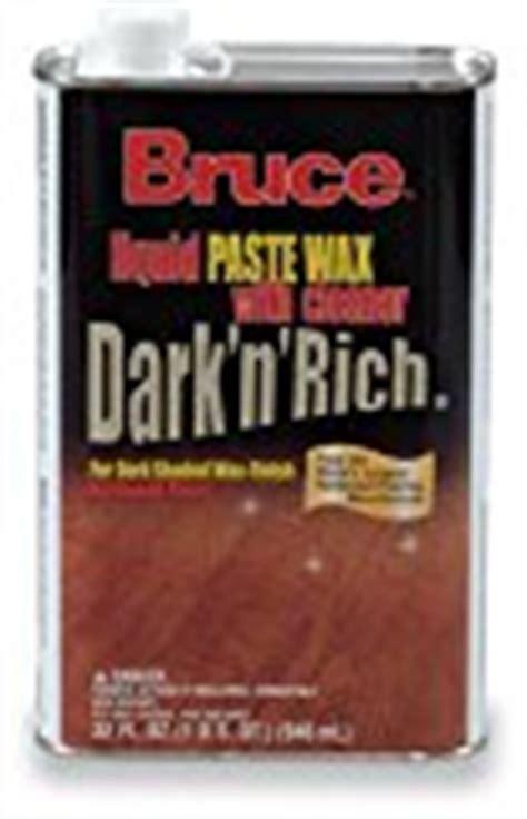 bruce floor wax bruce hardwood floors w105 32oz dark wood wax hardwood floor refinishing sandless nj