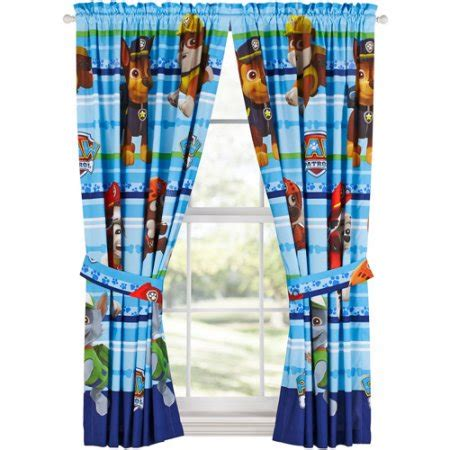 paw patrol puppy dog fun drapery panels walmart com