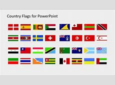 Country Flags Clipart for PowerPoint S to Z SlideModel