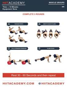 ABS HIIT Workout for Men
