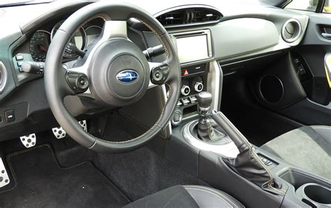 subaru interior subaru brz makes driving fun again wheels ca