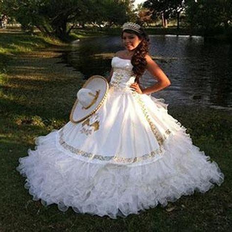 buy romantic white quinceanera dresses