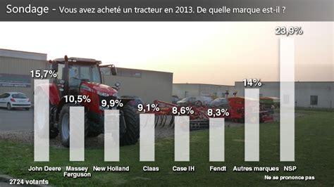 deere marque de tracteurs la plus achet 233 e en 2013