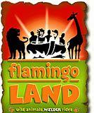 Image result for flamingo land logo