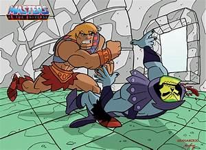 He-man vs Skeletor by Granamir30 on DeviantArt