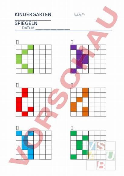 Spiegeln Arbeitsblatt Muster Unterrichtsmaterial Zusatzmaterial Arbeitsblaetter Loesungen