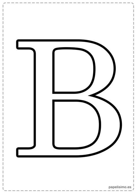 Letras grandes para imprimir Plantillas de letras para