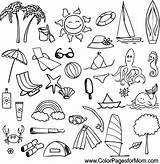 Vacation Coloring Pages Colorpagesformom Adult Coloringpages sketch template