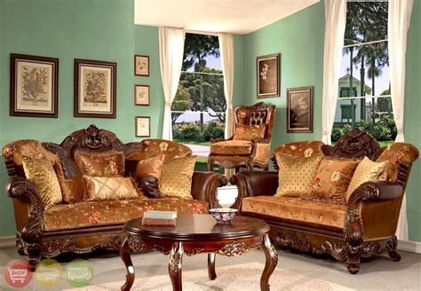 european antique style living room furniture
