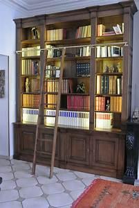 Bibliotheque Chene Massif : biblioth que sur mesure 100 ch ne massif meubles gibaud ~ Teatrodelosmanantiales.com Idées de Décoration