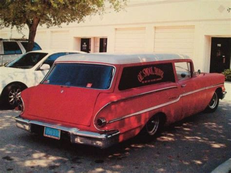***rare 1958 Chevy Delray Sedan Delivery