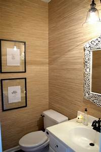 neutral grasscloth wallpaper 2017 grasscloth wallpaper With grasscloth wallpaper in bathroom