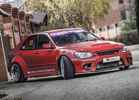 altezza lexus is300 clinched lexus is300 toyota altezza widebody kit ebay