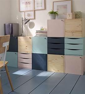 on fait entrer la douceur dans la maison avec ce meuble With peinture couleur bois de rose 19 jetais comme ca