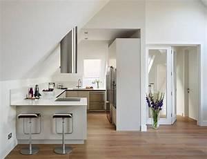 Einbauküche U Form : u f rmige einbauk che unter dachschr ge einrichten und wohnen pinterest einbauk chen ~ Sanjose-hotels-ca.com Haus und Dekorationen