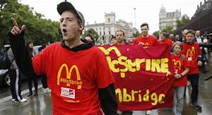 McDonald's Employees Strike for First Time in UK Amid Poor ...