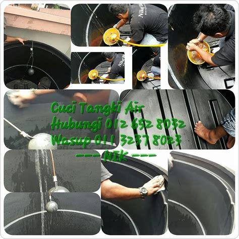 pemeriksaan percuma tangki air rumah cuci clean