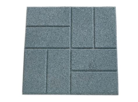rubber paver tiles canada rubberific pavers imc outdoor living