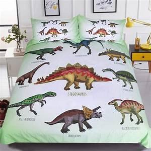 Best, Dinosaur, Large, Twin, Bedding, Set, For, Girls
