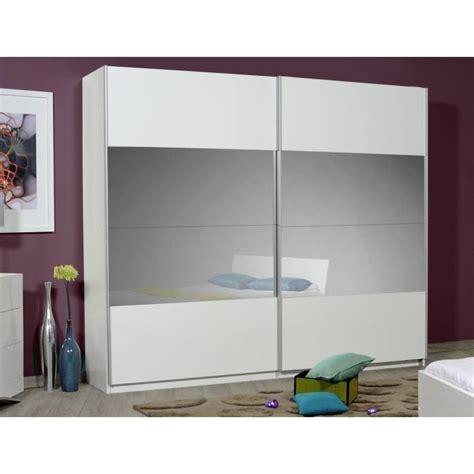 optimus maxi armoire dressing 260 cm blanc achat vente armoire de chambre pas cher couleur