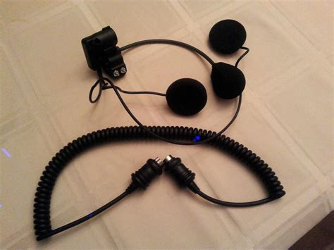 Davidson Headsets by Harley Davidson Headset Microphone For Cb Intercom West