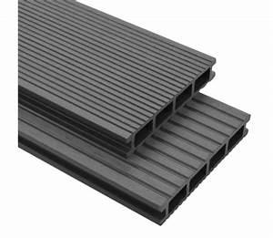 Wpc Terrassendielen Grau : vidaxl wpc terrassendielen mit zubeh r 30 m 4 m grau g nstig kaufen ~ Eleganceandgraceweddings.com Haus und Dekorationen