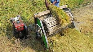 How To Make A Rice Thresher Machine At Home