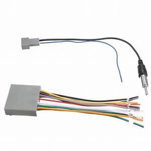 Car Stereo Radio Player Wire Harness Dvd Antenna For Honda