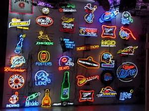 Image Gallery led beer signs