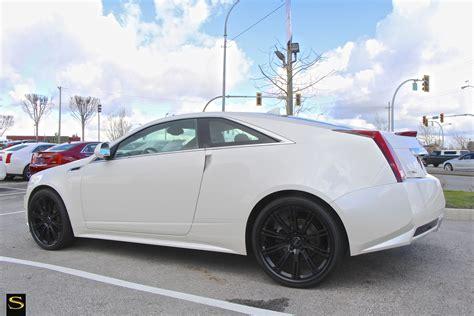 Black Rims For Cadillac Cts by Cts Savini Wheels