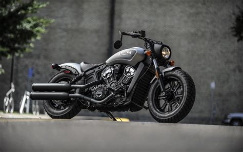 wallpapers indian scout bobber  thunder