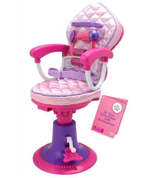 american salon chair for dolls 18 quot doll salon chair w accessories
