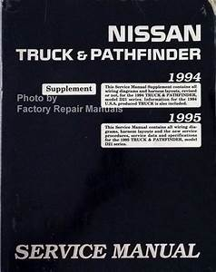 1994 1995 Nissan Truck  Pathfinder Service Manual