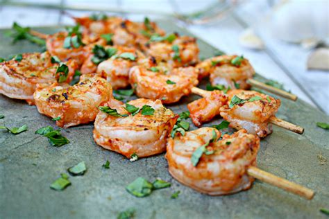 grilling shrimp grilled shrimp with rosemary recipe dishmaps