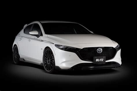 Design elevated to a work of art. ブリッツ、「MAZDA3」用エアロスピード Rコンセプトを発売 - Car Watch